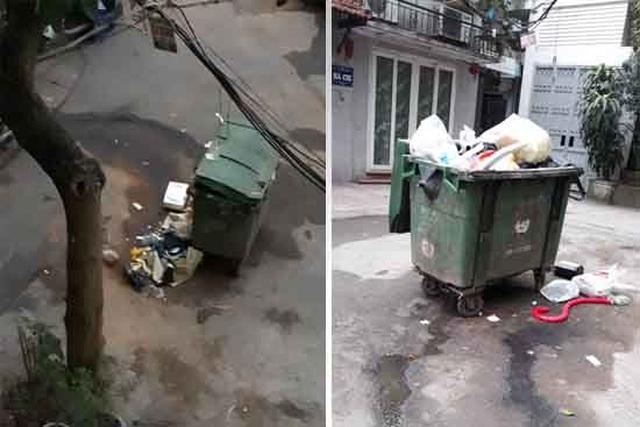 Người dân sống giữa Thủ đô khốn khổ vì những thùng rác bốc mùi xú uế - 1