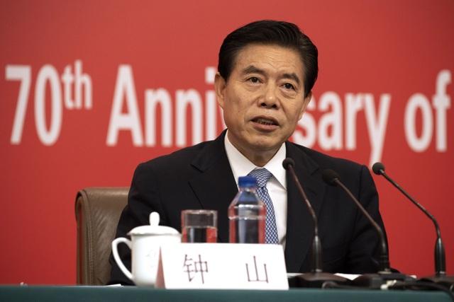 Bộ trưởng Trung Quốc thừa nhận nhiều công ty gặp khó khăn do thương chiến - 1