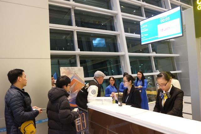 Chuyến bay đầu tiên khởi hành từ sân bay quốc tế Đà Nẵng năm 2019 khởi hành vào lúc 0h5' ngày 1/1