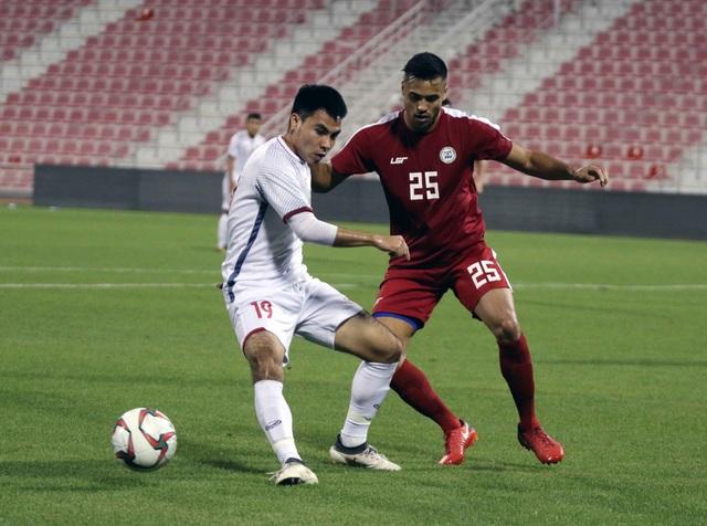 Hai đội hòa nhau 0-0 ở hiệp đấu đầu tiên