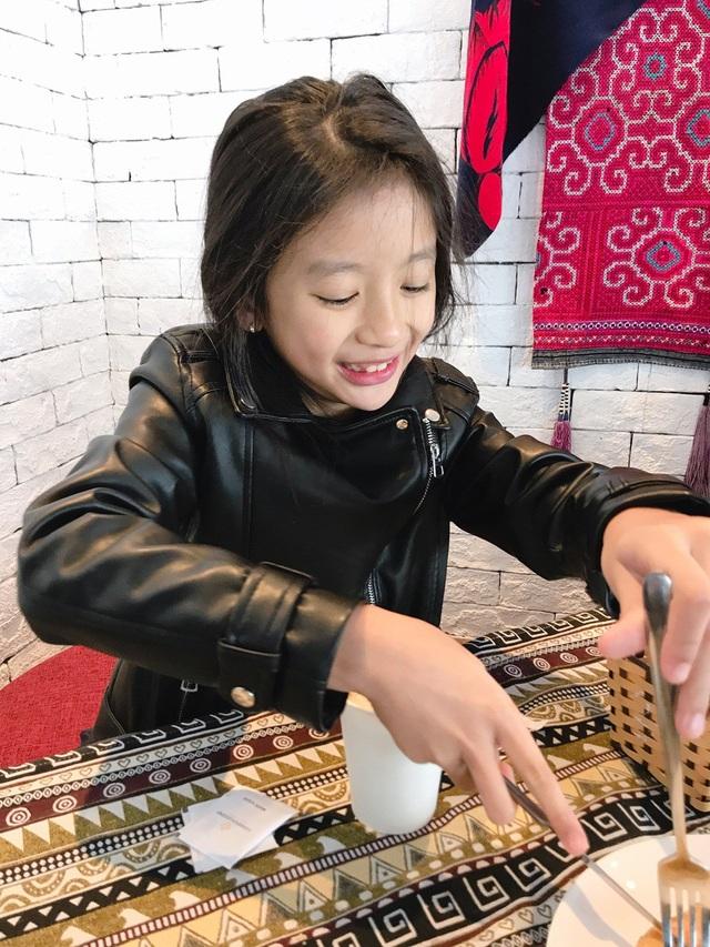 Chiko là con gái đầu lòng của Ngọc Diễm, năm nay tròn 8 tuổi.