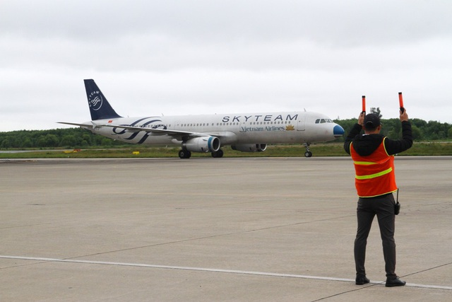 Chuyến bay của Vietnam Airlines mang theo 184 hành khách may mắn