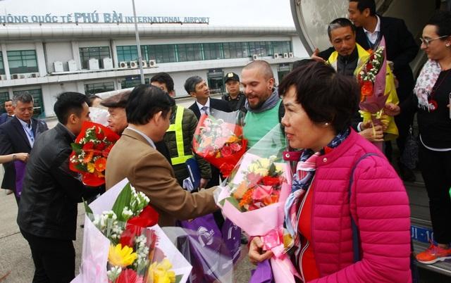 Những vị khách đầu tiên xông đất cố đô Huế năm 2019