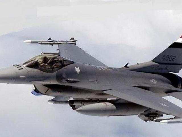 Chiến đấu cơ của lực lượng không quân Iraq làm nhiệm vụ diệt khủng bố trên bầu trời Syria