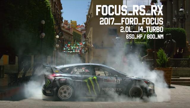 Ford Focus RS RX phiên bản 2017 dùng động cơ I4 2.0L turbo sức mạnh 650 mã lực/800 Nm.