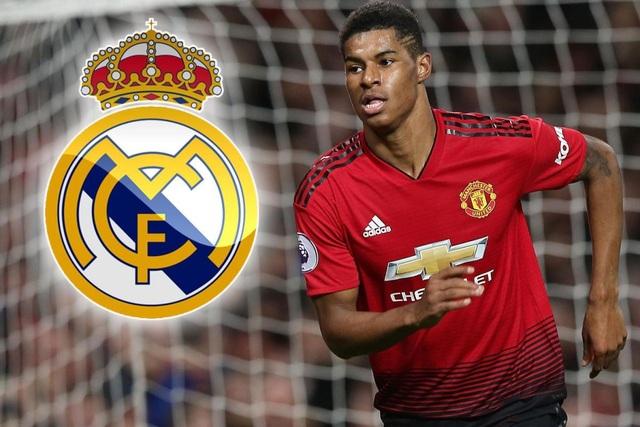 Rashford từ chối cơ hội chuyển tới Real Madrid