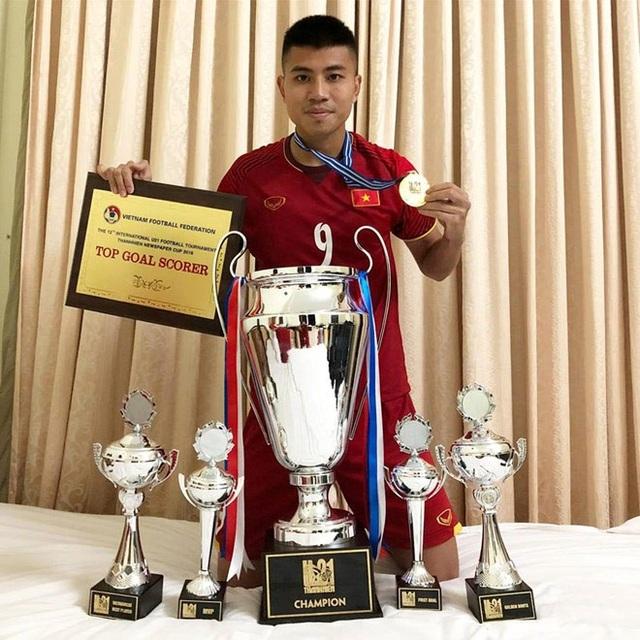 Đinh Thanh Bình - cầu thủ trẻ được nhiều người kỳ vọng