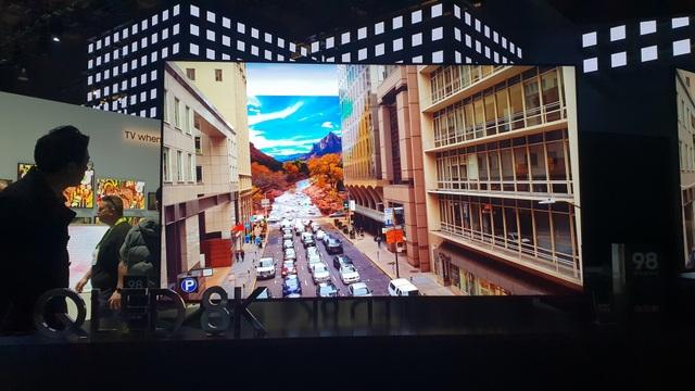 Xem các ông lớn Samsung, LG, Sony đọ TV 8K khủng tại CES 2019 - Ảnh 3.