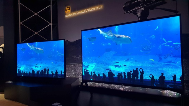 Xem các ông lớn Samsung, LG, Sony đọ TV 8K khủng tại CES 2019 - Ảnh 4.