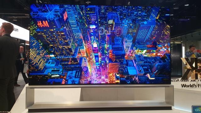 Xem các ông lớn Samsung, LG, Sony đọ TV 8K khủng tại CES 2019 - Ảnh 6.