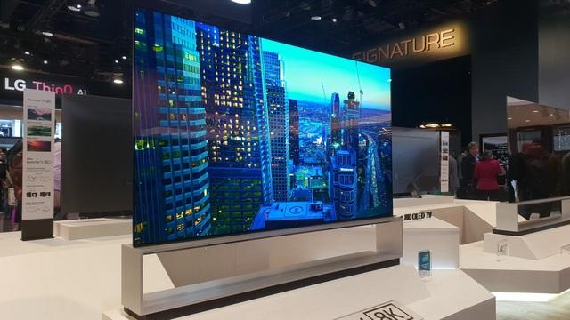Xem các ông lớn Samsung, LG, Sony đọ TV 8K khủng tại CES 2019 - Ảnh 5.