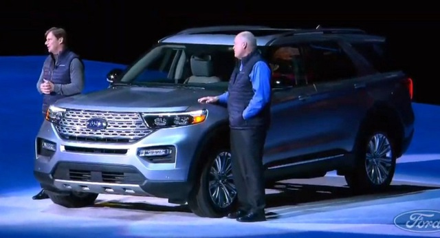 Ford Explorer thế hệ mới chính thức ra mắt - Ảnh 1.