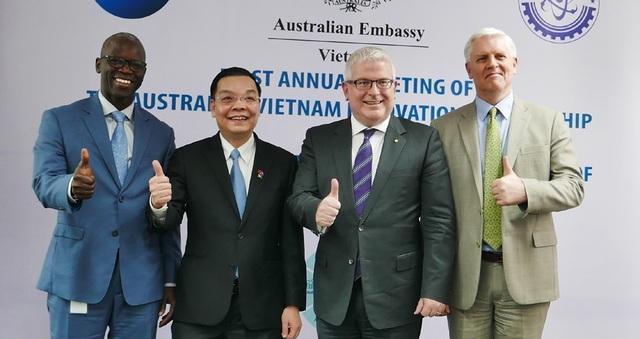 Australia hỗ trợ Việt Nam 10 triệu AUD thúc đẩy đổi mới sáng tạo - Ảnh 1.