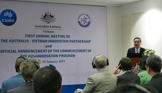 Australia hỗ trợ Việt Nam 10 triệu AUD thúc đẩy đổi mới sáng tạo - Ảnh 2.