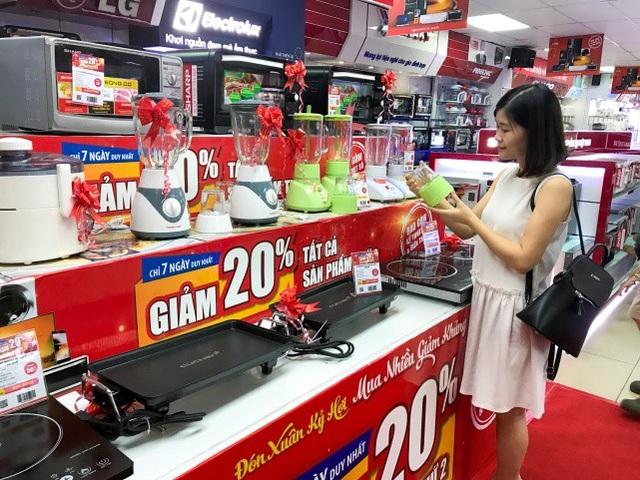 Nhu cầu mua sắm điện máy điện lạnh tăng mạnh dịp cuối năm - Ảnh 2.