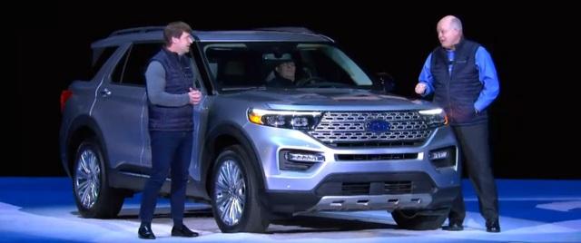 Ford Explorer thế hệ mới chính thức ra mắt - Ảnh 4.
