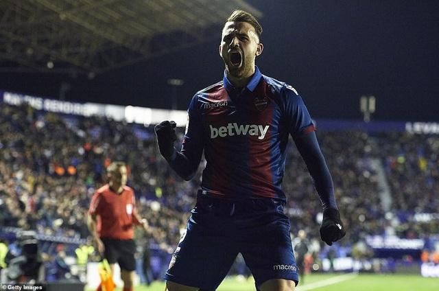 Vắng Messi, Barcelona thua sốc trước Levante - Ảnh 4.