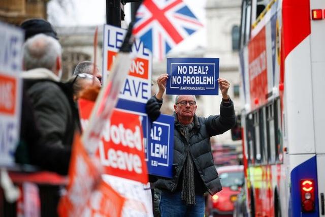Người Anh xuống đường vì Brexit trước giờ G - Ảnh 1.