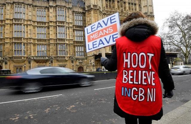 Người Anh xuống đường vì Brexit trước giờ G - Ảnh 12.