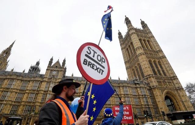 Người Anh xuống đường vì Brexit trước giờ G - Ảnh 15.