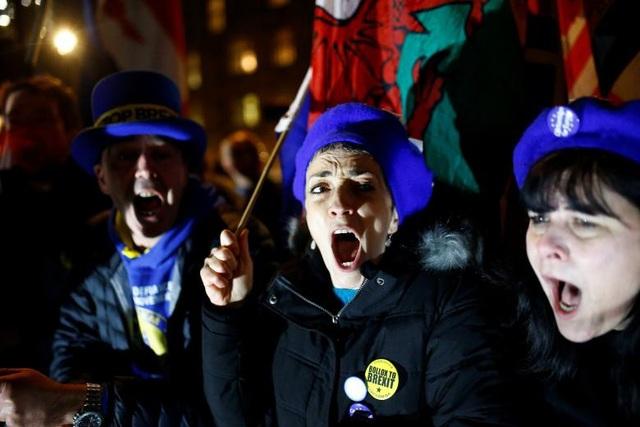 Người Anh xuống đường vì Brexit trước giờ G - Ảnh 21.