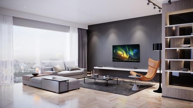 3 tuyệt chiêu làm nổi bật vẻ sang trọng của phòng khách hiện đại - Ảnh 2.