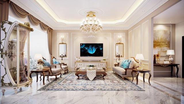 3 tuyệt chiêu làm nổi bật vẻ sang trọng của phòng khách hiện đại - Ảnh 3.