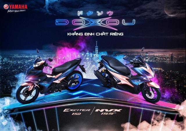 Exciter và NVX phiên bản Doxou - Sự lựa chọn mới của giới trẻ - Ảnh 1.