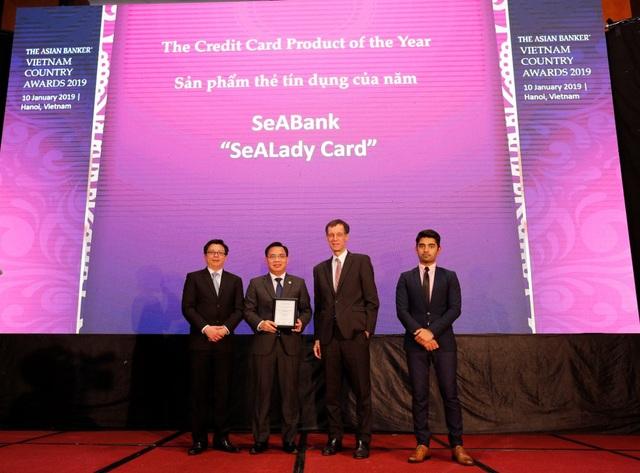 Thẻ tín dụng quốc tế SeALady - Sản phẩm thẻ tín dụng tiêu biểu của năm 2018 - Ảnh 1.