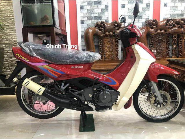Xe máy Suzuki 17 năm vẫn còn zin: Giá huyền thoại 1 tỷ đồng - Ảnh 1.