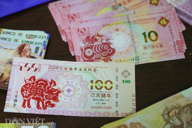 Tiền 2 USD in hình con heo đắt như tôm tươi trước Tết Kỷ Hợi 2019 - Ảnh 12.