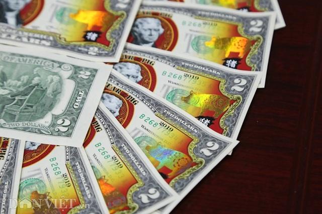 Tiền 2 USD in hình con heo đắt như tôm tươi trước Tết Kỷ Hợi 2019 - Ảnh 5.