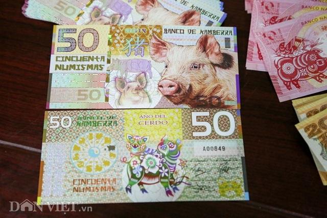 Tiền 2 USD in hình con heo đắt như tôm tươi trước Tết Kỷ Hợi 2019 - Ảnh 10.