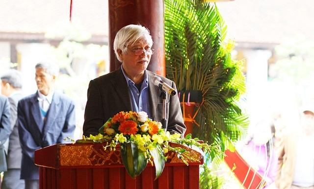Long trọng tưởng niệm 345 năm ngày sinh và trao tượng đồng danh nhân Nguyễn Quý Ân - Ảnh 4.