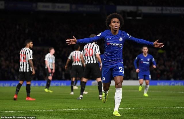 Thắng nhẹ Newcastle, Chelsea áp sát vị trí của Tottenham - Ảnh 2.