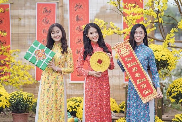Tân hoa khôi Imiss Thăng Long khoe sắc trong bộ ảnh đón Xuân sớm - Ảnh 8.