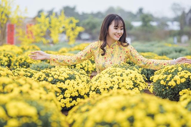 Tân hoa khôi Imiss Thăng Long khoe sắc trong bộ ảnh đón Xuân sớm - Ảnh 2.