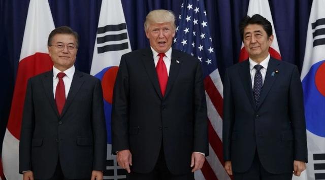 Mỹ gặp khó khi lập liên minh với Nhật, Hàn đối phó Trung Quốc - Ảnh 1.
