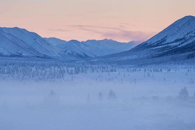 Cuộc thi chạy khắc nghiệt nhất thế giới tổ chức trong cái lạnh -52 độ - Ảnh 1.