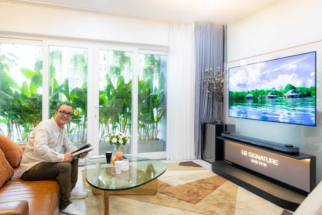 TV LG OLED siêu mỏng - thú vui thời thượng - Ảnh 2.