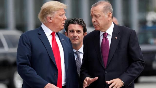 Ông Trump dọa tàn phá kinh tế Thổ Nhĩ Kỳ vì vấn đề Syria - Ảnh 1.