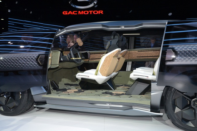 Chiêm ngưỡng mẫu xe đầu tiên của Trung Quốc thiết kế tại Mỹ - Ảnh 6.