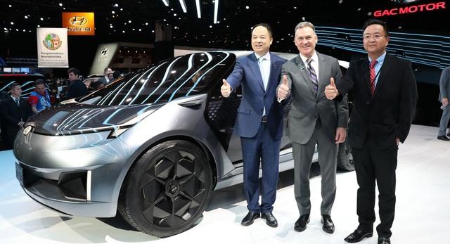 Chiêm ngưỡng mẫu xe đầu tiên của Trung Quốc thiết kế tại Mỹ - Ảnh 1.