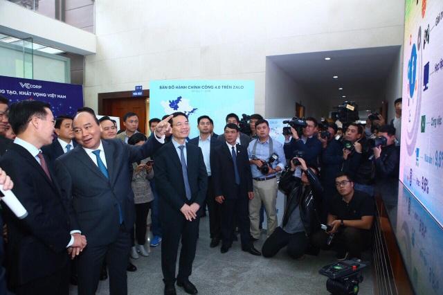 Thủ tướng Nguyễn Xuân Phúc tham quan Triển lãm về công nghệ, công nghiệp Việt Nam - Ảnh 1.