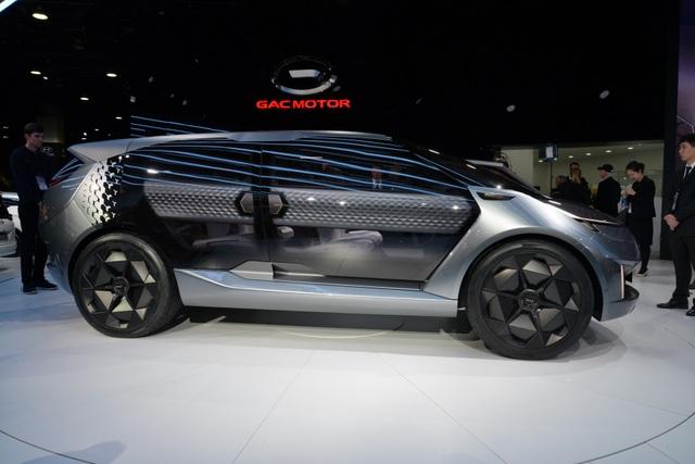Chiêm ngưỡng mẫu xe đầu tiên của Trung Quốc thiết kế tại Mỹ - Ảnh 4.