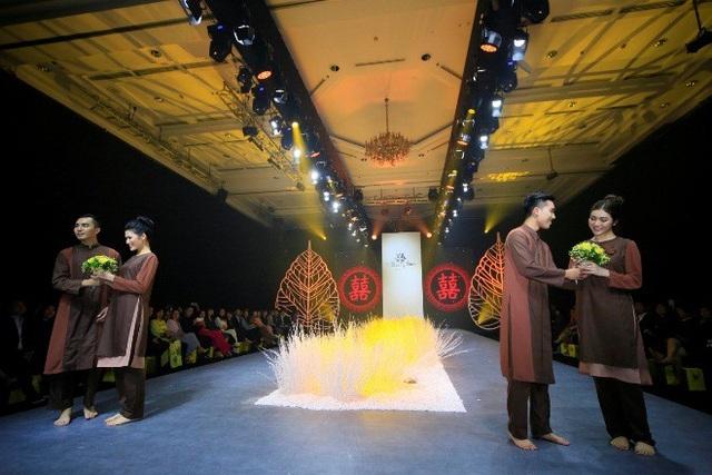 Thiên Hương diện trang phục cô dâu của Thiện Phát Design - Ảnh 5.