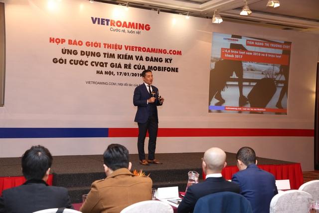 Startup Việt giới thiệu ứng dụng tìm kiếm và đăng ký gói cước chuyển vùng quốc tế giá rẻ - Ảnh 1.