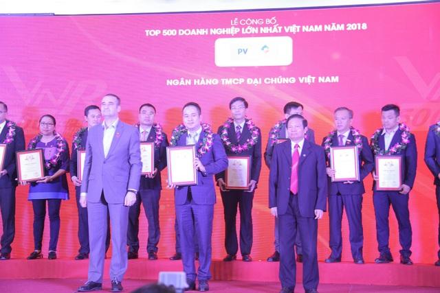 PVN và nhiều doanh nghiệp dầu khí được vinh danh Top 500 Doanh nghiệp lớn nhất Việt Nam năm 2018 - Ảnh 1.