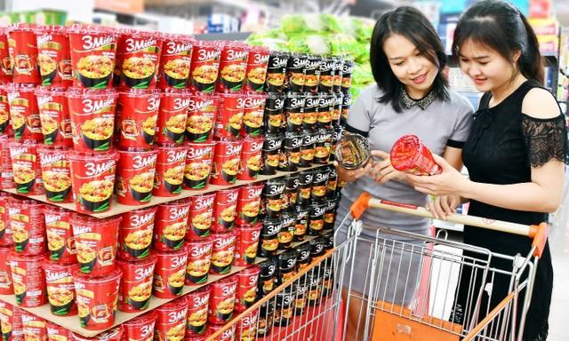 """Một năm """"khởi sắc"""" của thị trường mì gói Việt - Ảnh 1."""