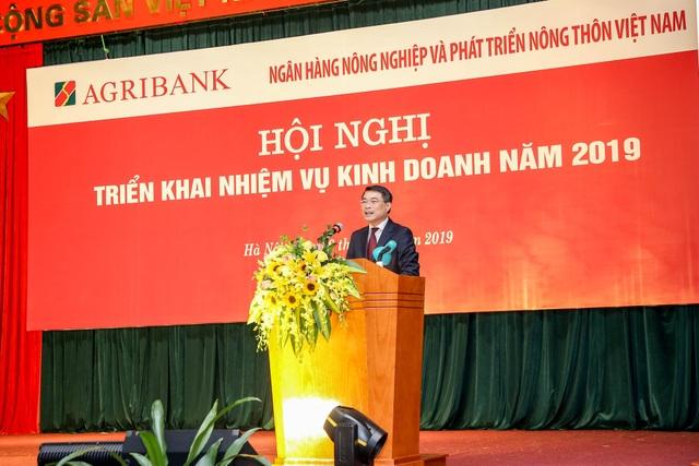 Agribank tổ chức Hội nghị triển khai nhiệm vụ kinh doanh năm 2019 - Ảnh 4.